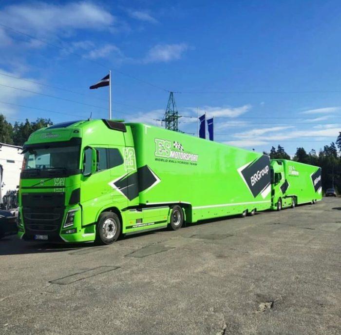 ES Motorsport - Paddock Distribution