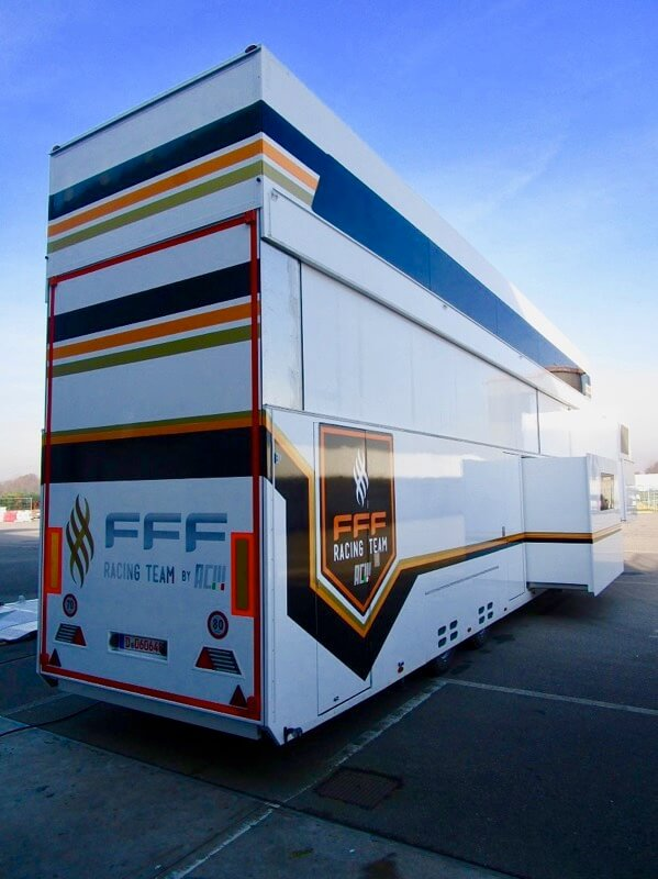 FFF Racing - Paddock Distribution