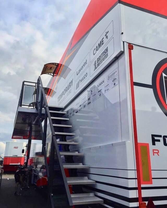 Forward racing - Paddock Distribution