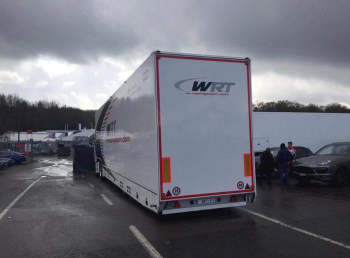 WRT Racing - Paddock Distribution